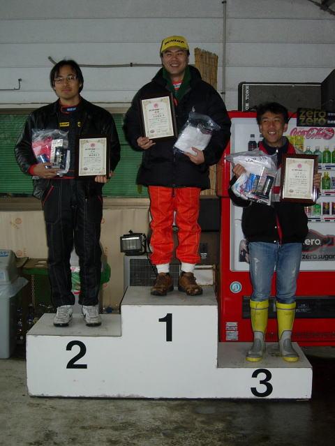 Rd1 NT-1500クラス 表彰式